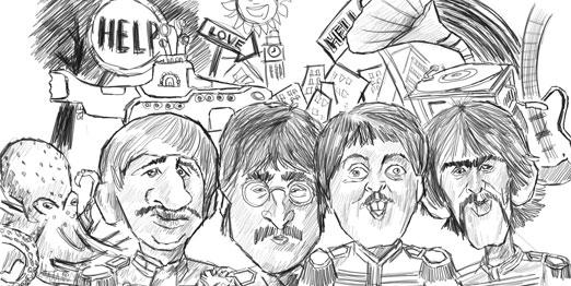비틀즈 이미지 더 뮤직